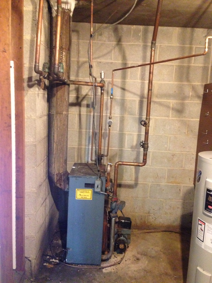 Brookhaven, PA - Oil burner replacement before