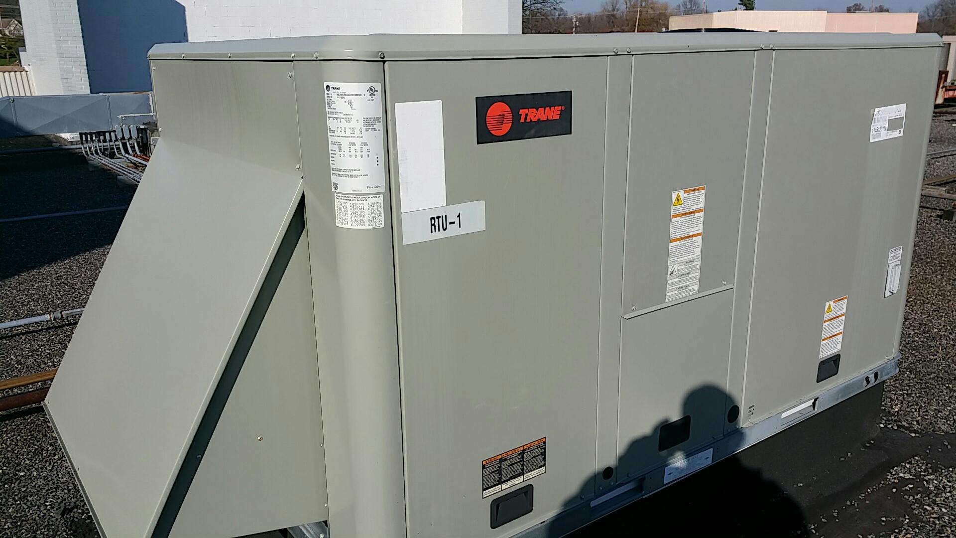 Media, PA - No heat on Trane roof top unit in Media. Defective reversing valve on heat pump.
