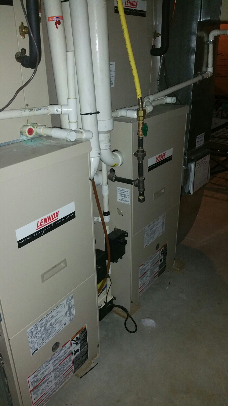 Garnet Valley, PA - Repair propane gas furnace 2nd floor. No heat at Garnet Valley. Replace hot surface ignitor.