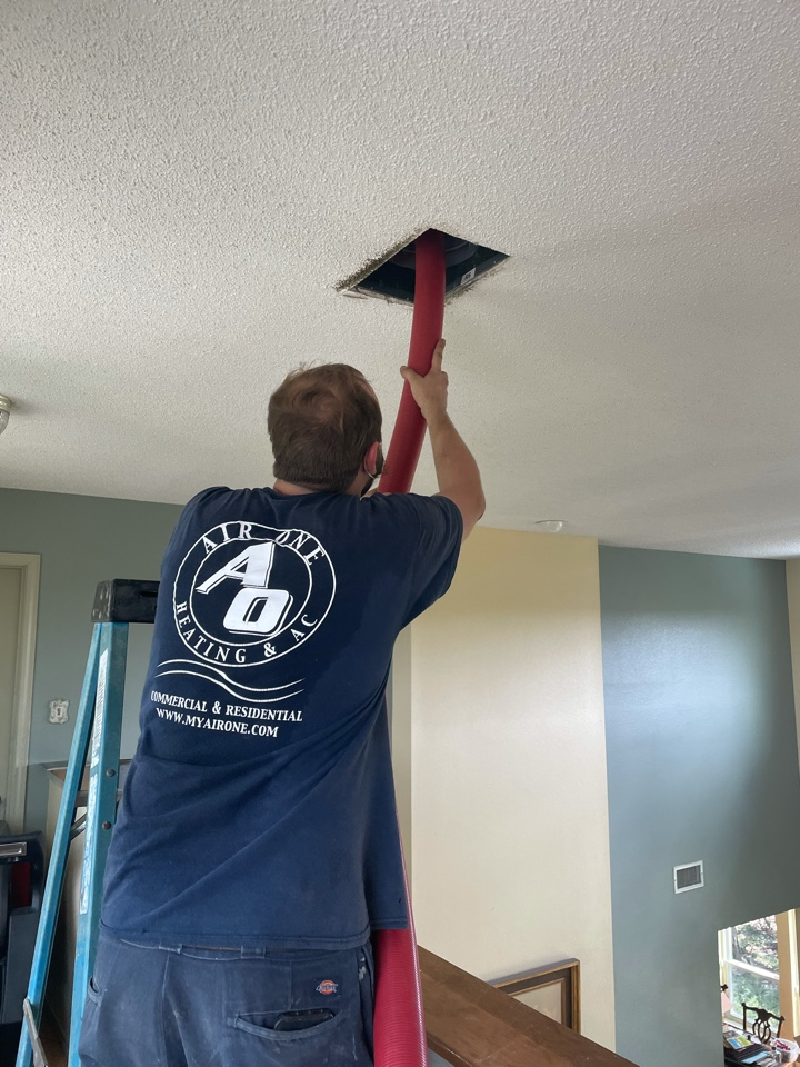 New Braunfels, TX - Duct cleaning in the River Oaks neighborhood