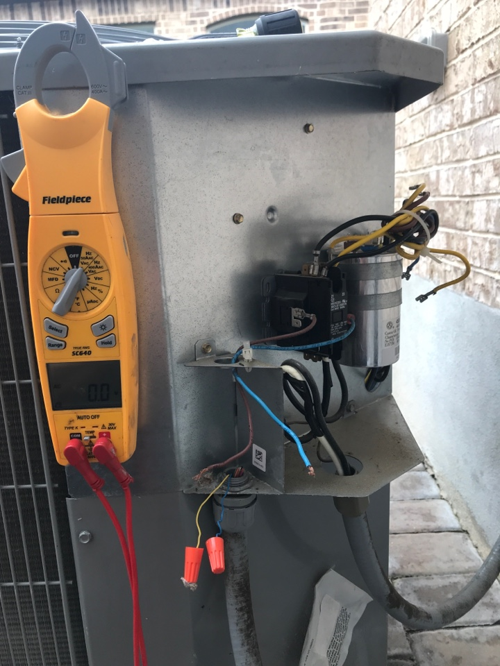 San Marcos, TX - Outdoor ac unit not coming on