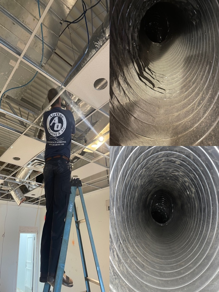 San Marcos, TX - Ductwork cleaning and repair with a full system HVAC check. Cooling and heater maintenance