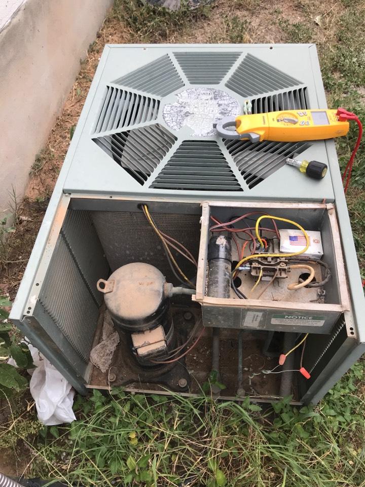 San Marcos, TX - Outdoor unit not running