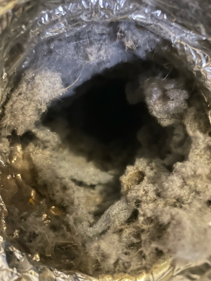 San Marcos, TX - Dryer vent cleaning before
