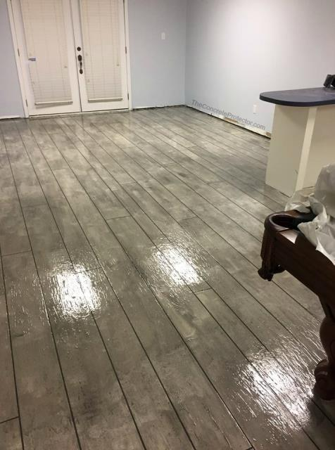 Madison, WI - If elegant, wood like, beautiful, and durable is what your looking for in a floor, then Concrete Rustic Wood is exactly what you want!! Get a floor that looks like wood, but is waterproof and scratch resistant!! Fantastic look for any room!