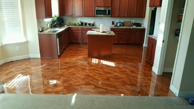 Madison, WI - Transform your kitchen into a beauty that you can wake up to every day and love! Contact us today to learn more about the Metallic Marble system!!