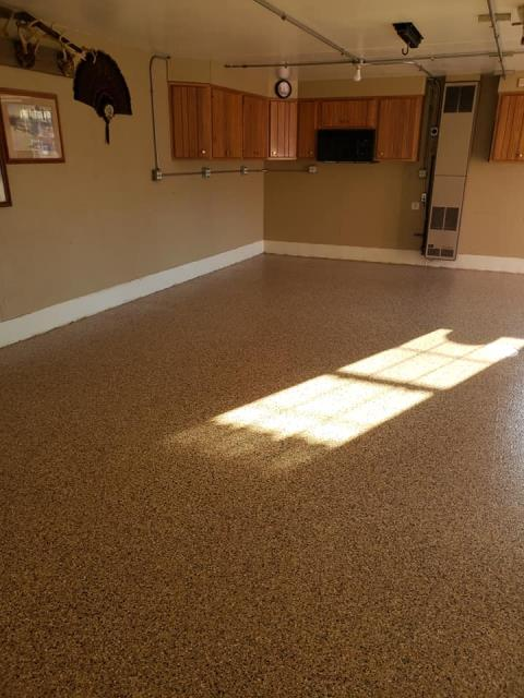 Waterloo, IA - Jason and his crew are awesome to work with. They assure a job well done with quality work performance. Not only are they talented, but they are also respectful to their customers! The crew cleaned up after themselves at the end of each day, only leaving behind a beautiful garage floor! I Highly recommend this company!!