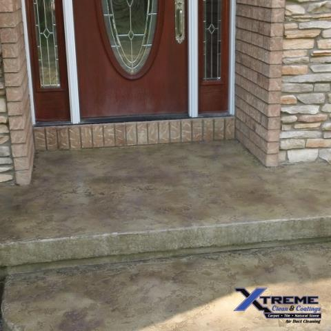 Dubuque, IA - This is an amazing team working together to create phenomenal concrete surfaces, inside and outdoors!! Jason is personable, professional, and guarantees unmatchable quality results! We hired Jason and his crew to remodel our front porch area, and we are beyond pleased with the work! They created a new concrete surface that we are 100% satisfied with. The look goes perfectly with the outside color theme and design!! I would definitely hire the Xtreme Clean & Coatings crew again!