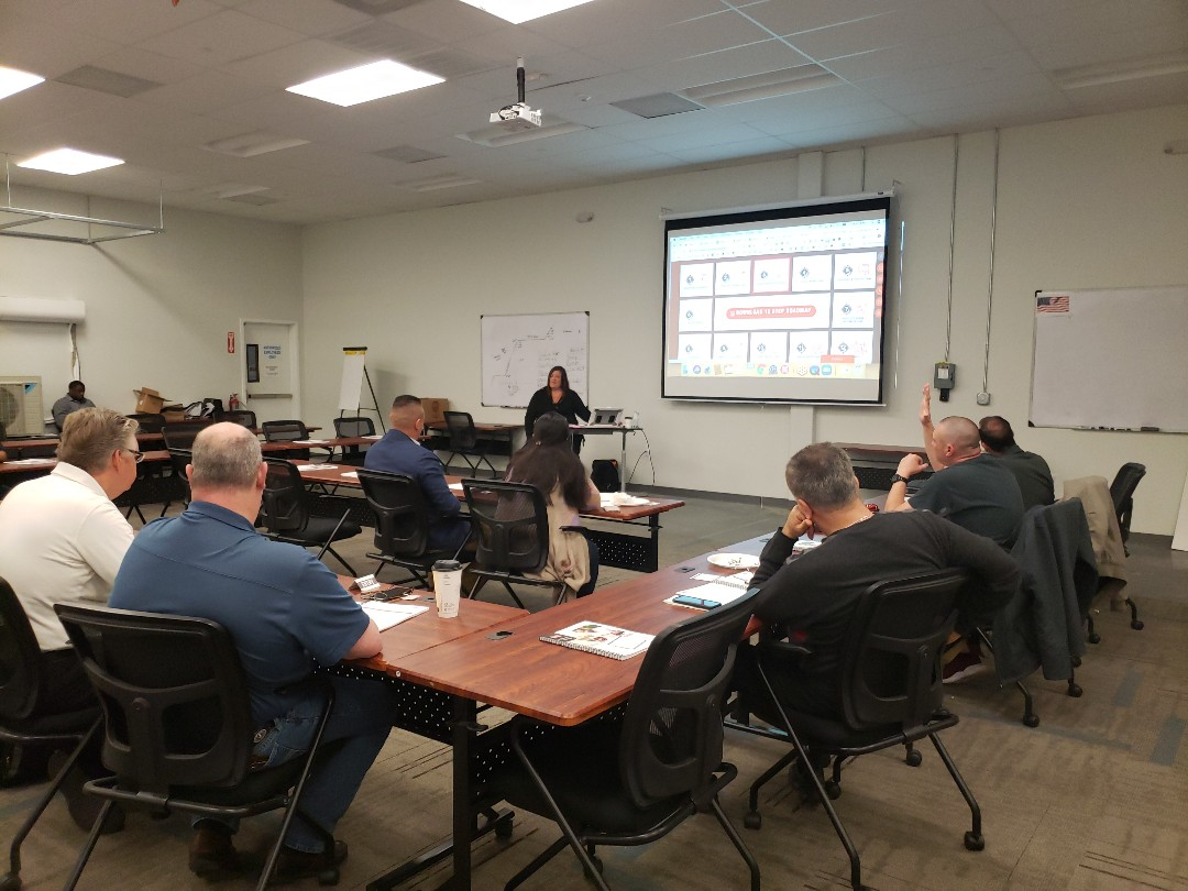 Houston, TX - Training workshop with Jennifer Bagley, CEO CI Wrb Group Inc at Goodman Manufacturing Training Center, Houston, Texas