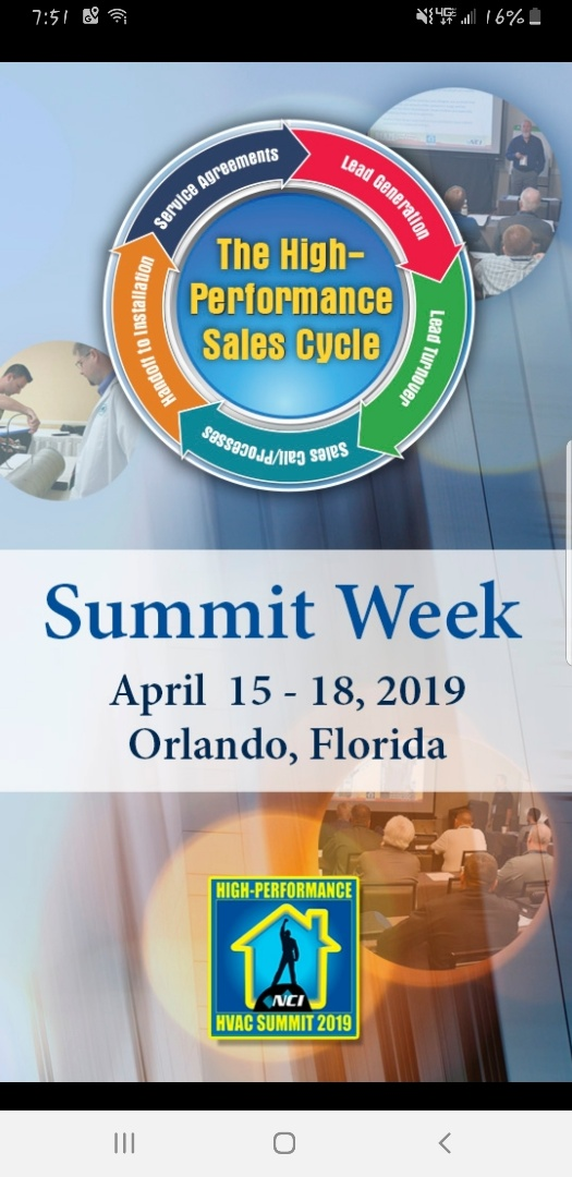 NCI Summit in Orlando, Florida with CI Web Group
