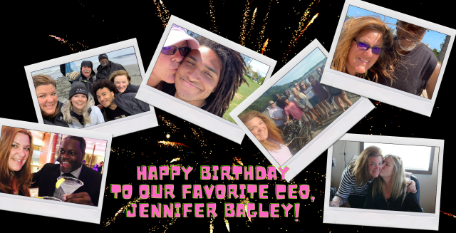 Houston, TX - Happy birthday to our CEO, Jennifer Bagley! We love and appreciate you!!