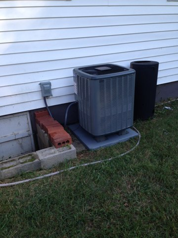 Broad Run, VA - Annual maintenance cleaning for heat-pump system,