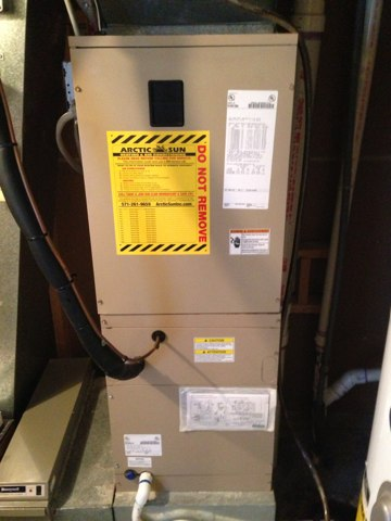 Aldie, VA - Service call no AC, reset switch