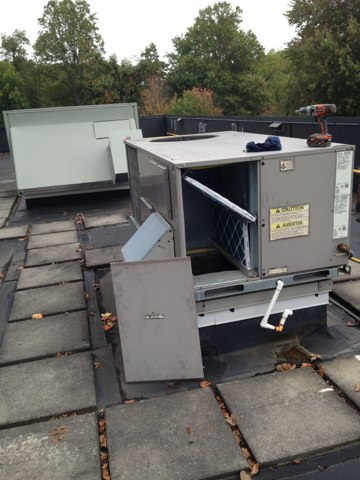 Oakton, VA - Annual cleaning of furnace,