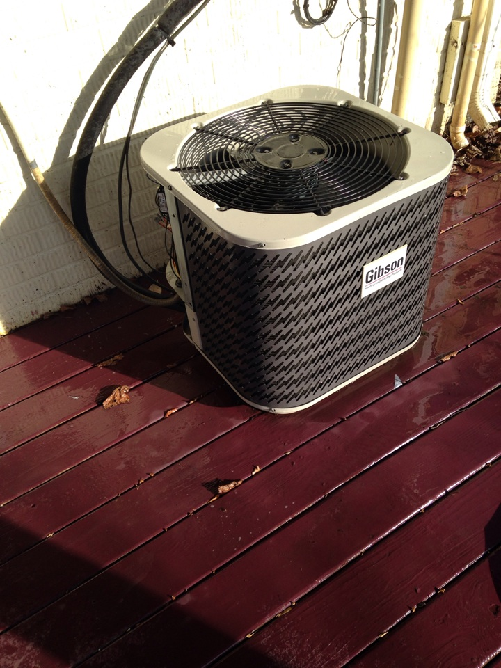 Stafford, VA - Full cleaning of an 10 year old Gibson heat pump system,