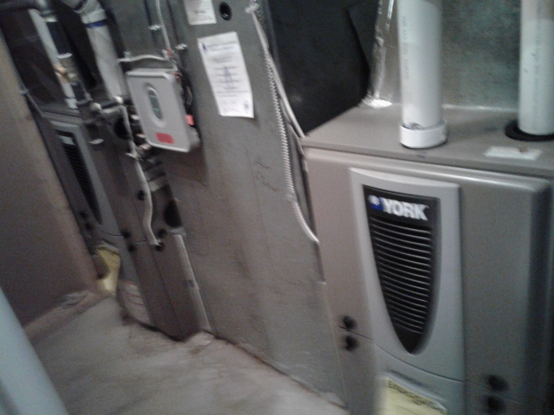 Calgary, AB - Heating Tune-up, Performed annual maintenance on York furnaces.