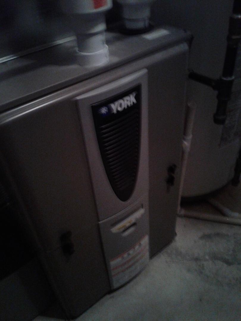 Calgary, AB - Heating repair, performed repairs on York furnace.