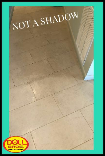 Clearwater, FL - Cleaning grout for our very dear customer that we have been working for 20 years in Cresent Beach Club condos.
