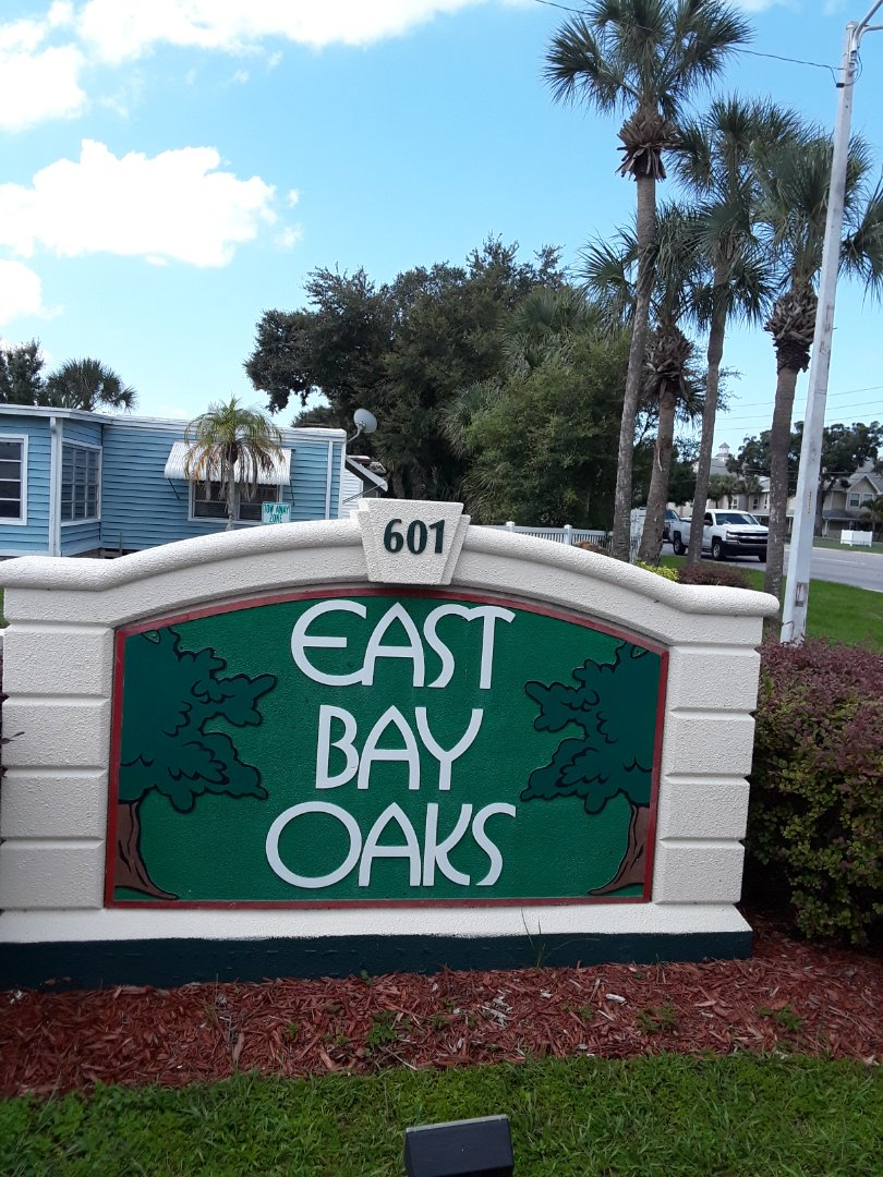 At the East Bay Oaks mobile home park Carpet Cleaning the entire home. Another satisfied customer.