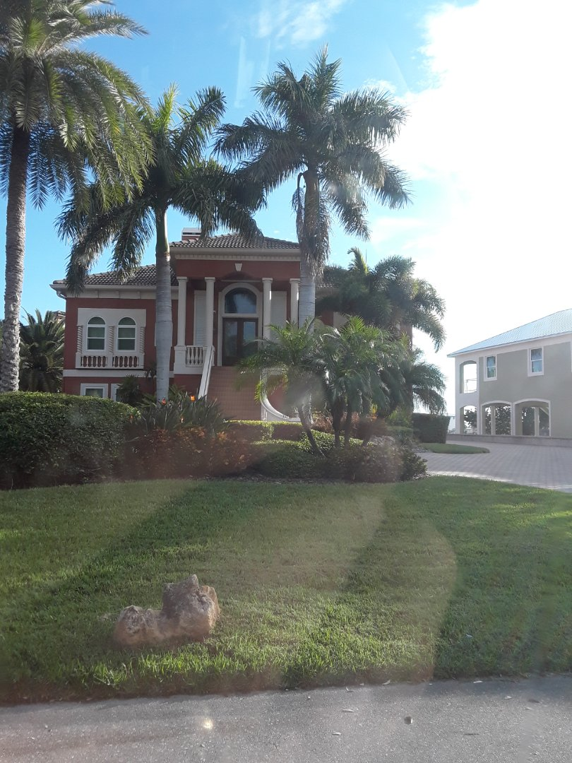 Redington Beach, FL - Cleaning Carpet in this beautiful home on the intercoastal waterway. This is a referral from her neighbors.