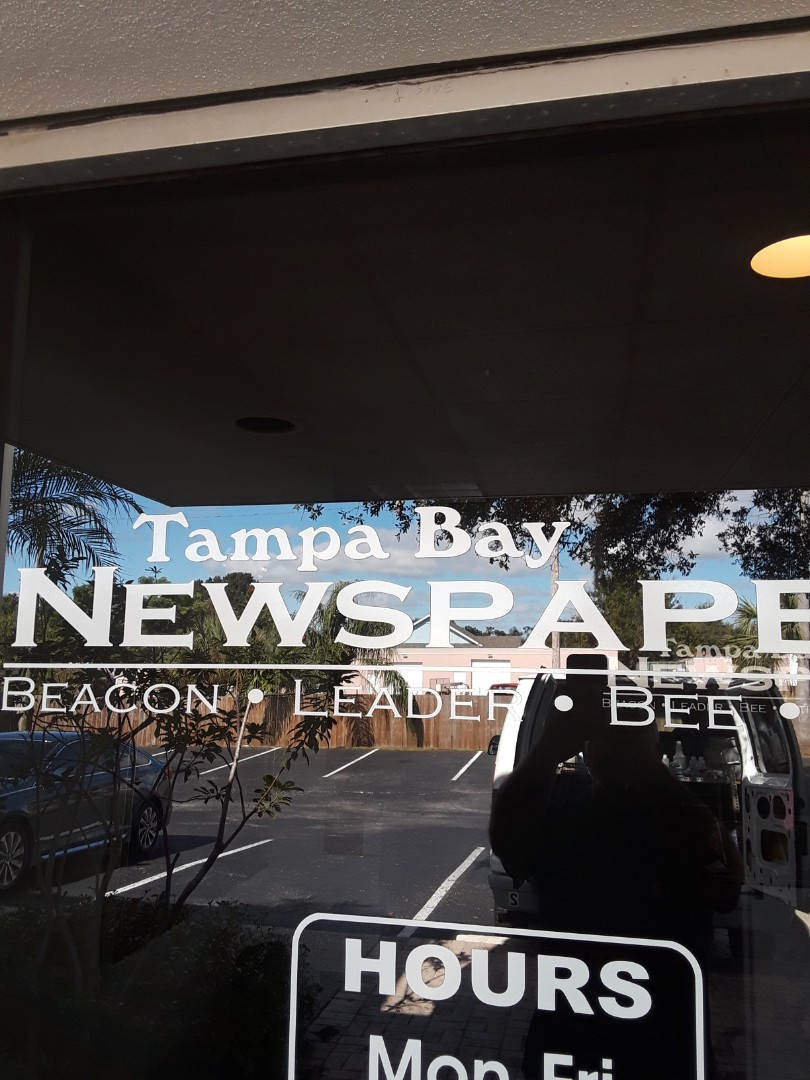 Seminole, FL - We are doing commercial Carpet Cleaning today at Tampa Bay Newspapers. They have their carpets cleaned twice a year and have been customers of ours for more than 15 years.