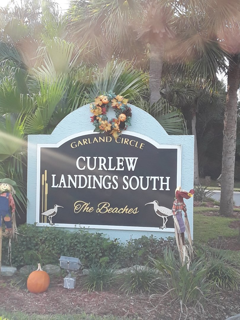 At the Curlew Landings neighborhood. Just gave and booked an estimate for Carpet Dry Cleaning, Furniture Cleaning and Tile and Grout floor Cleaning.