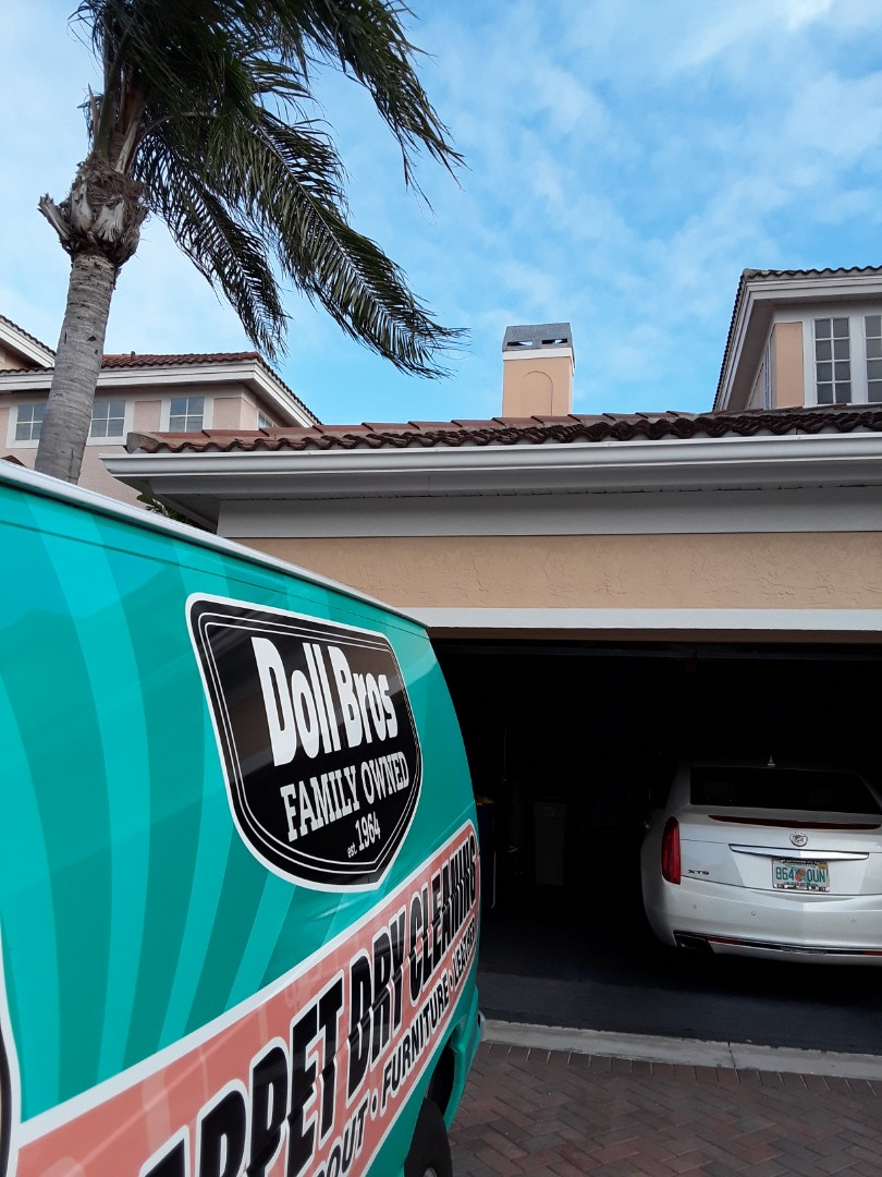 Clearwater, FL - We did all the Carpet Cleaning in this two story home in Clearwater Isles neighborhood.