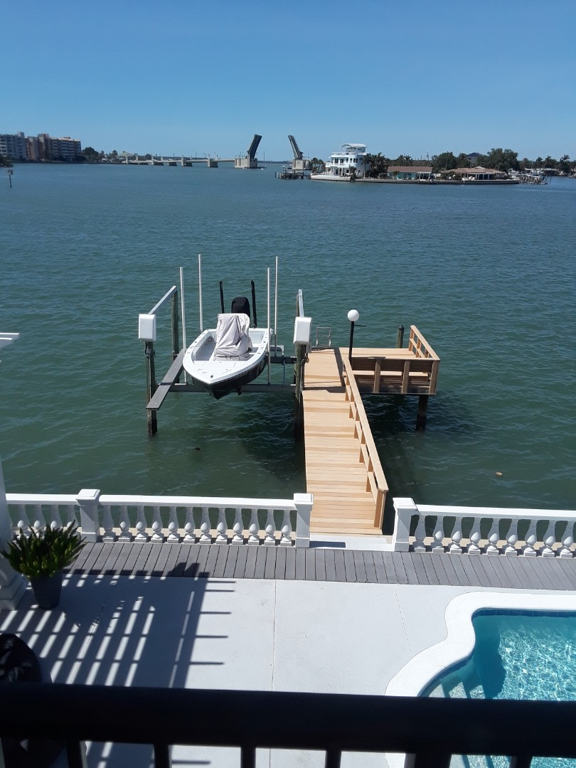 St. Petersburg, FL - We are Cleaning Carpet at this beautiful two story home on the intercoastal waterway