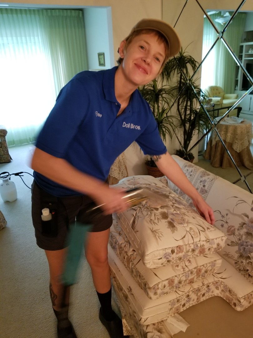 Clearwater, FL - Carpet Cleaning and Furniture Cleaning for a new in At Top Of The World Condominiums.