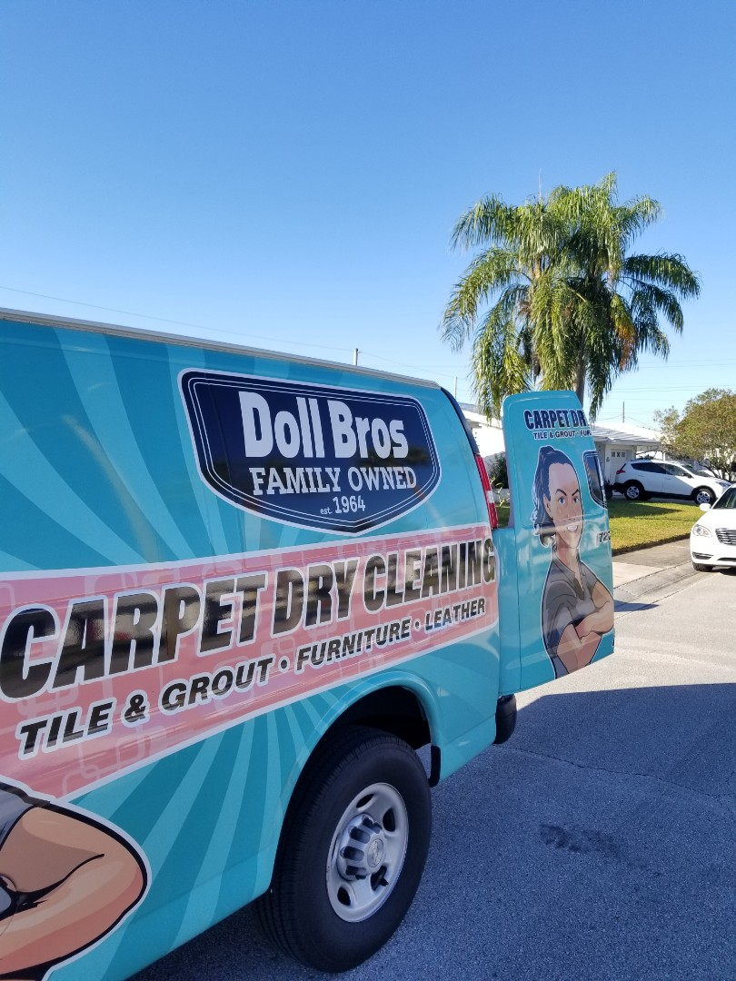 Pinellas Park, FL - Furniture Cleaning and Leather Furniture Cleaning at a repeat customers home in the Mainlands subdivision.