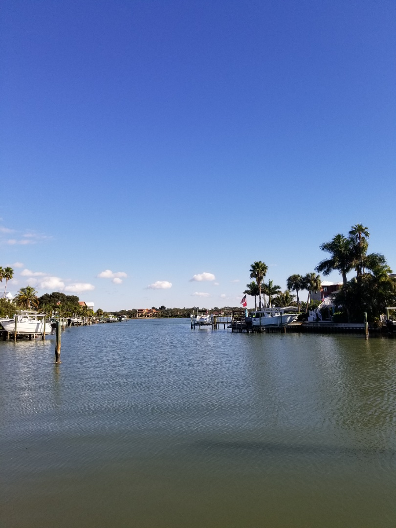 Indian Rocks Beach, FL - Carpet Dry Cleaning at a home on the intercoastal.