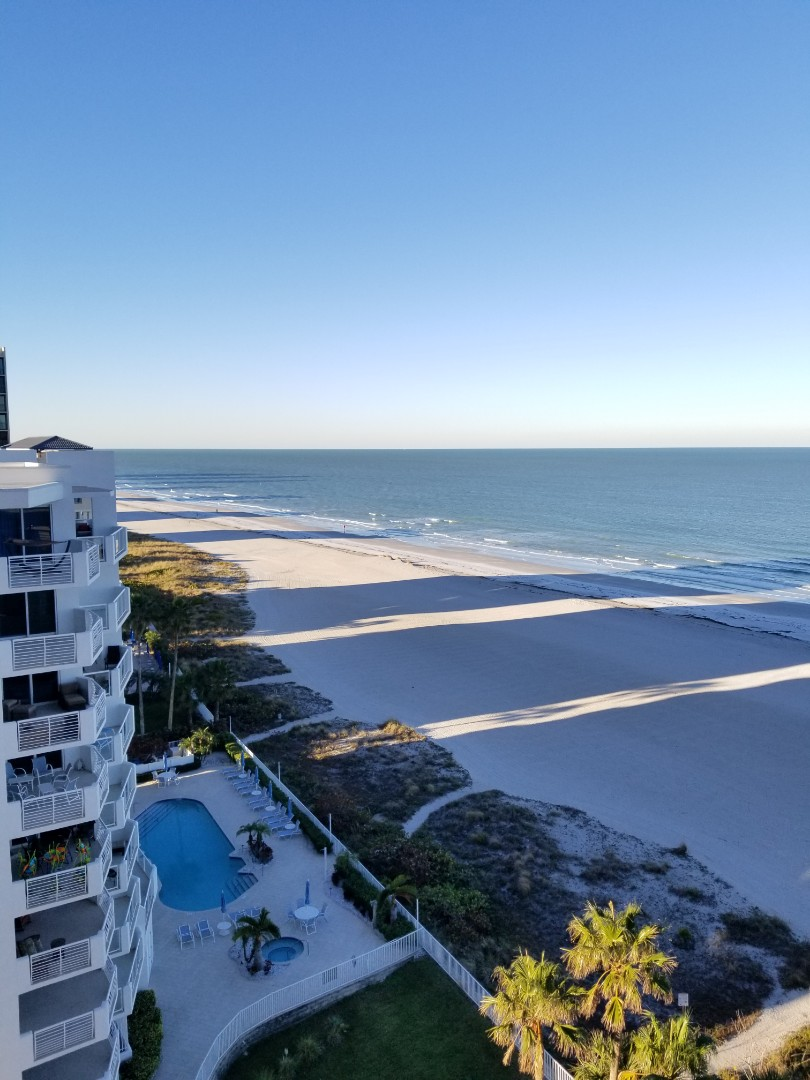 Clearwater, FL - Low Moisture Carpet Cleaning at crescent beach club.