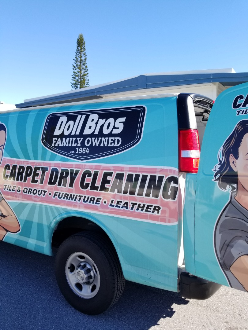 Clearwater, FL - It's not often that we are in Down Yonder Mobile Home Park, but today we are Cleaning Carpet for a new customer.