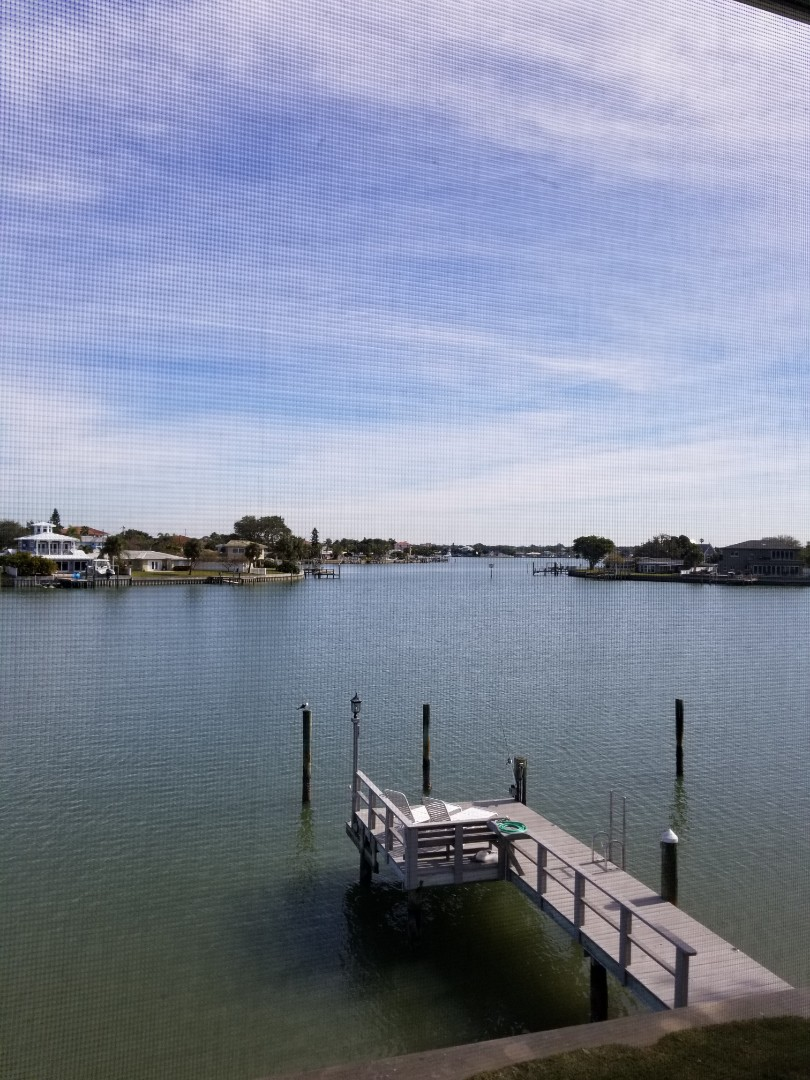Indian Rocks Beach, FL - Cleaning Carpet at a condominium on the Intercoastal waterway.