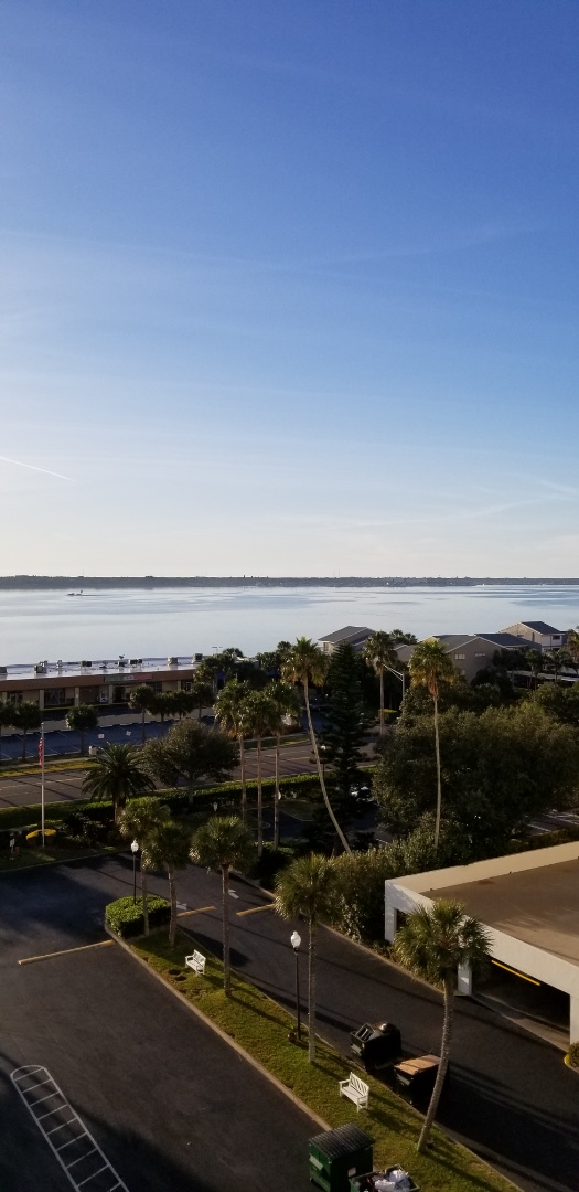 Clearwater, FL - Just getting started on professional carpet cleaning in Landmark Towers Condominium