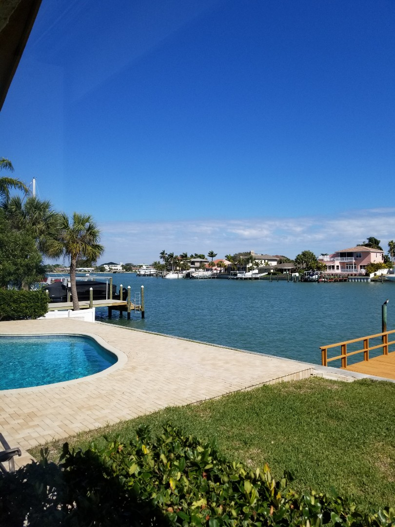Belleair Beach, FL - At this beautiful Bellaire intercoastal home, Carpet Cleaning numerous rooms.