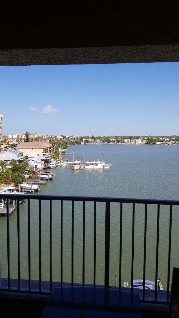 Redington Shores, FL - A new referral Carpet Cleaning customer, at their condominium on Indian Shores intercoastal.