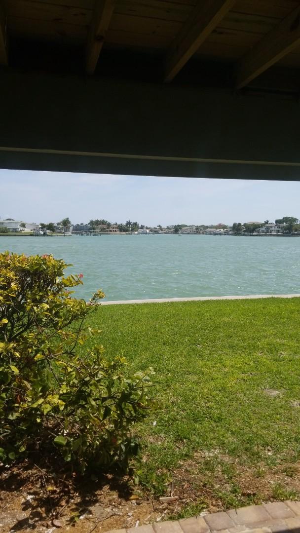 Treasure Island, FL - The last job of the week is Upholstery Cleaning at home on the Treasure island intercoastal waterway.