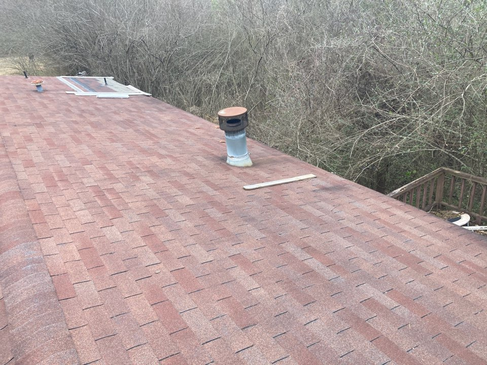 Odenville, AL - Measured to repair leaking three tab shingle roof.
