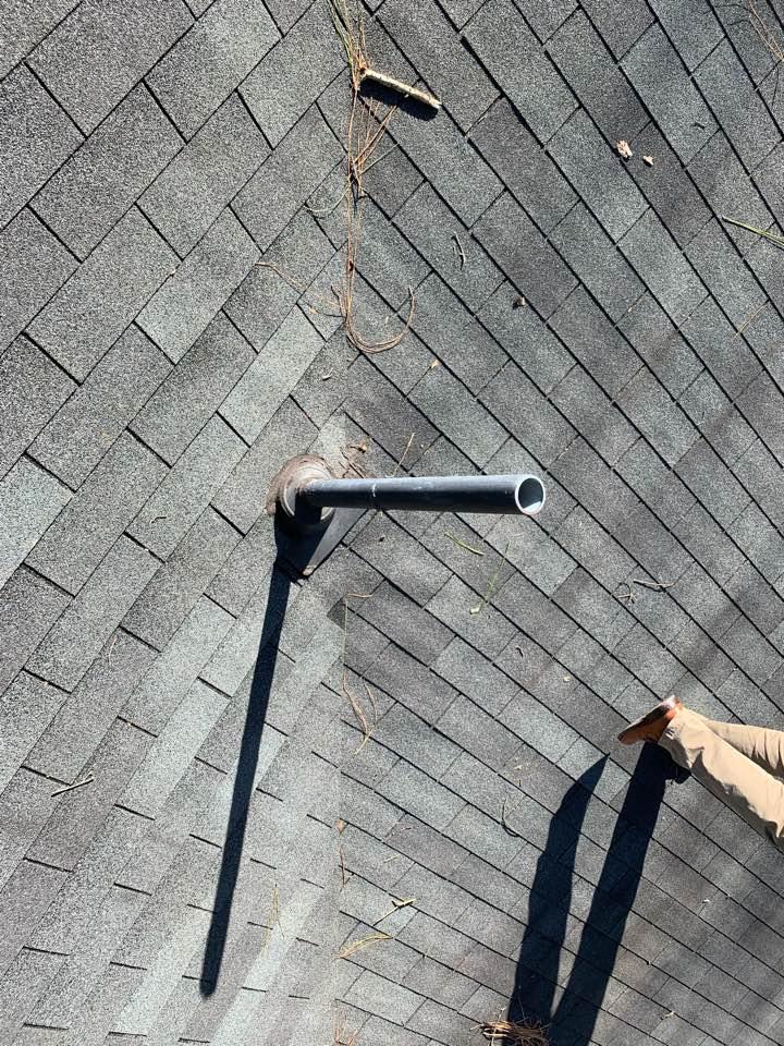 Birmingham, AL - Measured to replace leaking plumbing vent.