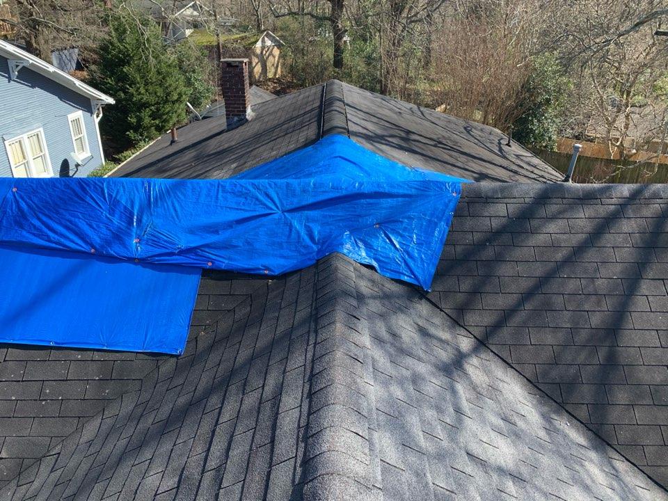 Birmingham, AL - Measured to replace three tab shingle roof.