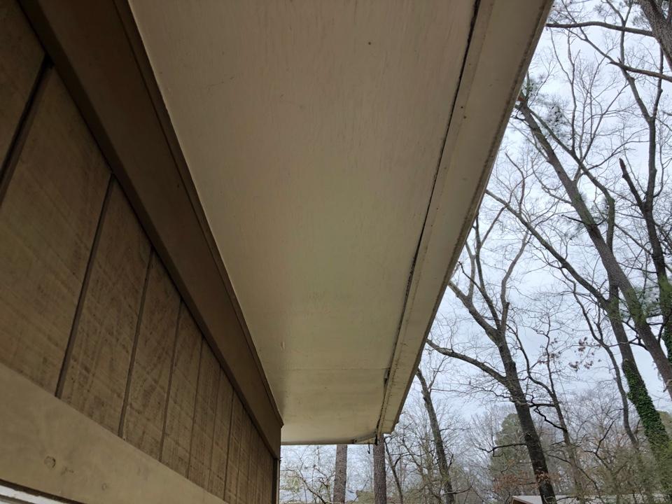 Birmingham, AL - Measured for a new gutter system