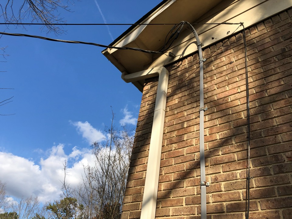 Pinson, AL - Measured for a new gutter system