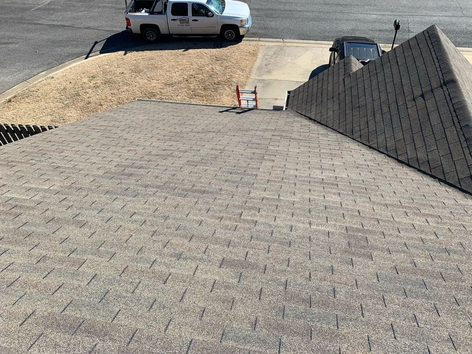 Bessemer, AL - Measured to replace three tab shingle roof on a townhome.