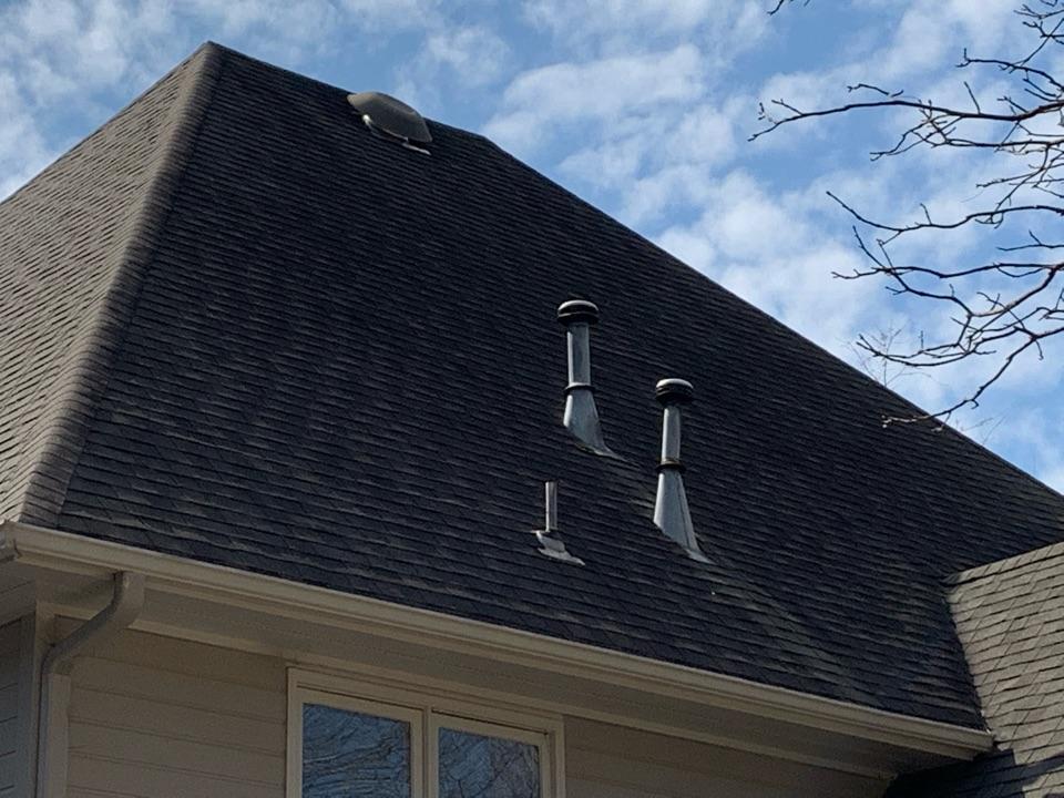 Vestavia Hills, AL - Inspected roof for damage.