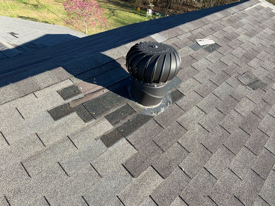 Bessemer, AL - Measured to replace three tab shingle roof due to wind damage.