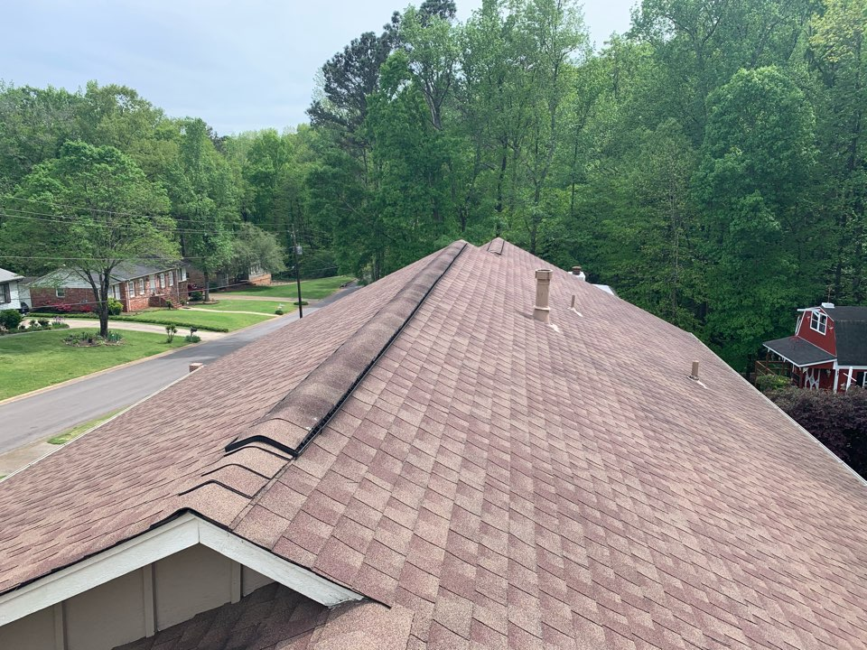 Trussville, AL - Measured to replace dimensional shingle roof.