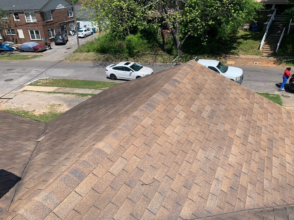 Fairfield, AL - Measured to replace three tab shingle roof.