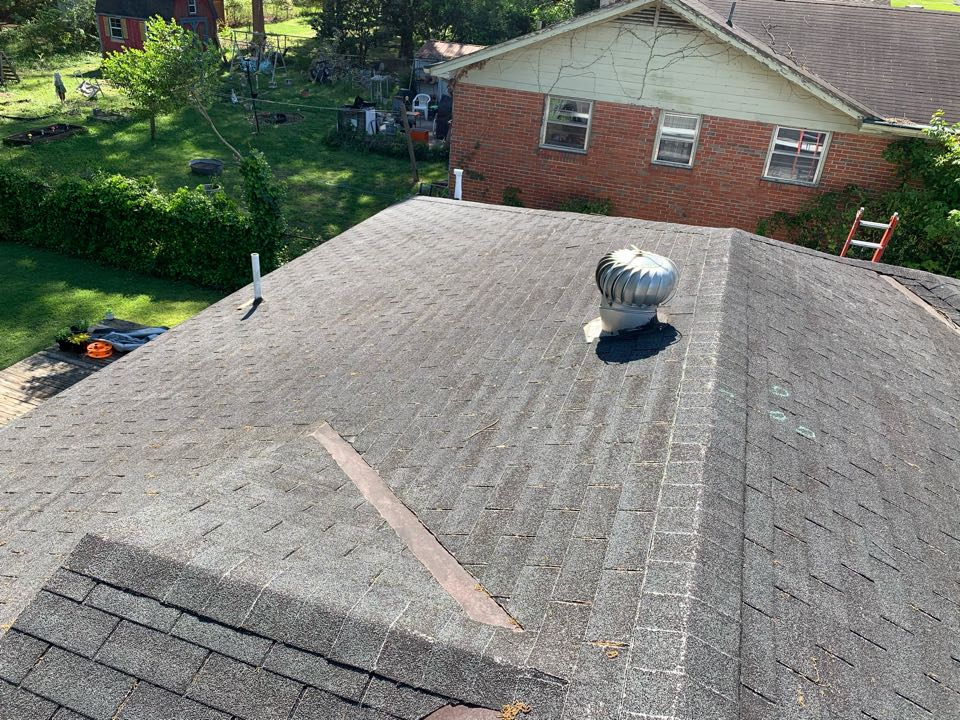 Irondale, AL - Measured to replace three tab shingle roof and install new gutters.