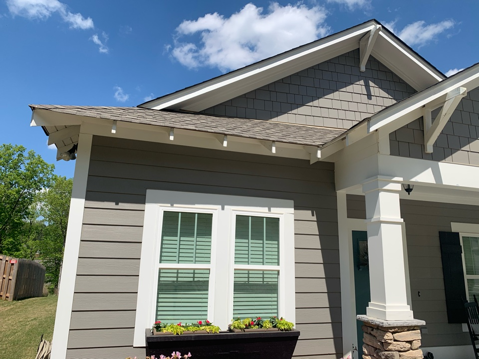 """Irondale, AL - Measured to install 6"""" k style gutters."""